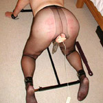 Exhbitionist slut gfs get bound